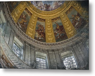 Eglise Du Dome Metal Print by Evie Carrier