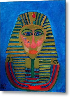 Egypt Ancient  Metal Print by Colette V Hera  Guggenheim