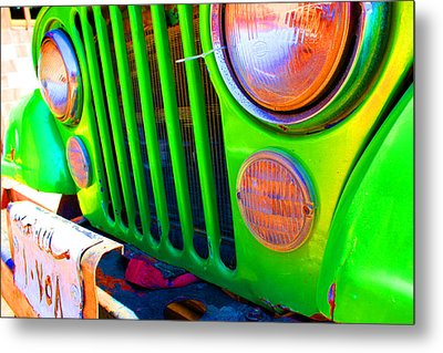Egypt Car Metal Print by Laura Hiesinger