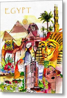 Egypt Metal Print by George Rossidis