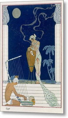 Egypt Metal Print by Georges Barbier