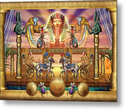 Egyptian Metal Print