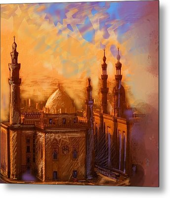 Egyptian Mosque Metal Print