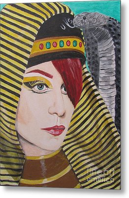 Egyptian Princess Metal Print by Jeepee Aero