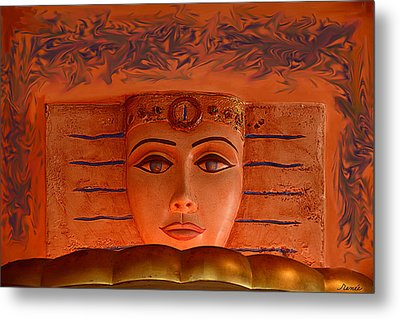 Egyptian Queen Nefertiti  Metal Print