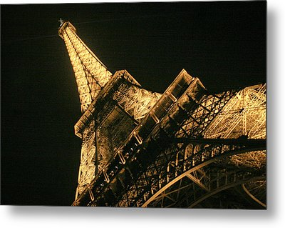 Metal Print featuring the photograph Eiffel by Silvia Bruno