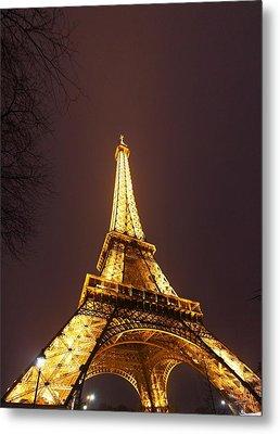 Eiffel Tower - Paris France - 011313 Metal Print by DC Photographer