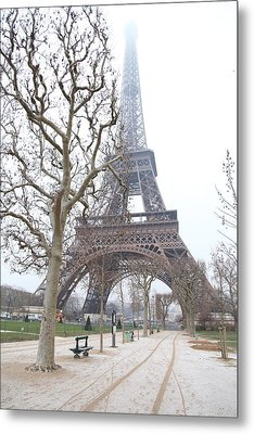 Eiffel Tower - Paris France - 011315 Metal Print