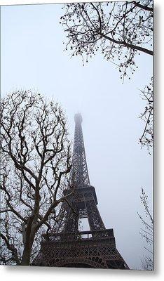 Eiffel Tower - Paris France - 011318 Metal Print by DC Photographer