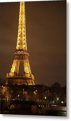 Eiffel Tower - Paris France - 011326 Metal Print