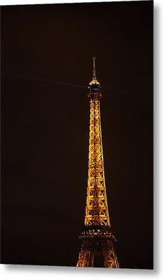 Eiffel Tower - Paris France - 011329 Metal Print by DC Photographer