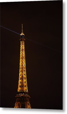 Eiffel Tower - Paris France - 011331 Metal Print by DC Photographer