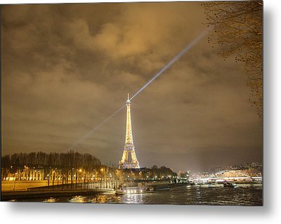 Eiffel Tower - Paris France - 011335 Metal Print by DC Photographer