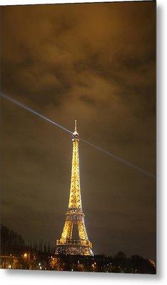 Eiffel Tower - Paris France - 011346 Metal Print