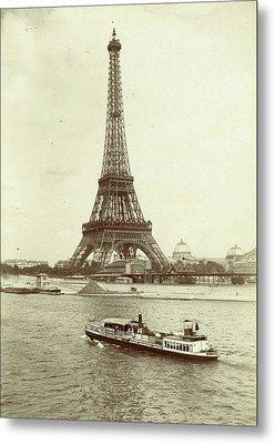 Eiffel Tower, Paris, France, X Metal Print by Artokoloro