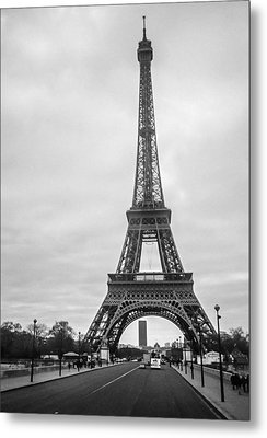 Eiffel Tower Metal Print by Steven  Taylor