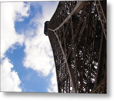 Metal Print featuring the photograph Eiffel Tower by Tiffany Erdman