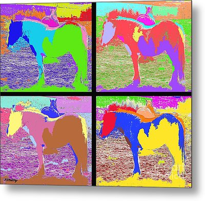Eight Horses Metal Print by Patrick J Murphy