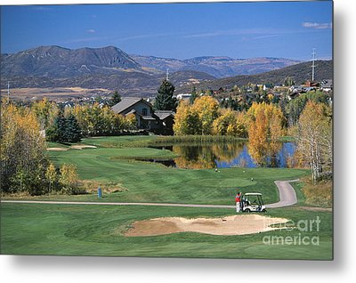 Eighth Hole Metal Print by Chris Selby