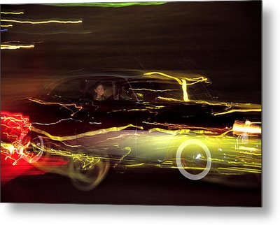 Eighty Eight Miles Per Hour Metal Print by Jason Politte