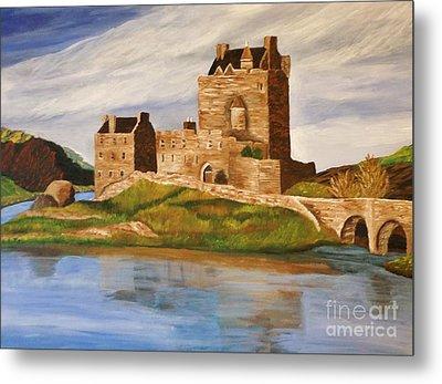 Eilean Donan Castle Metal Print by Christy Saunders Church