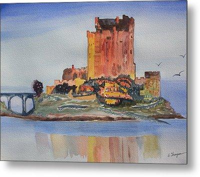 Eilean Donan Castle  Dornie Inverness Shire Scotland Metal Print