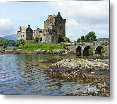 Eilean Donan Castle - Summer Metal Print