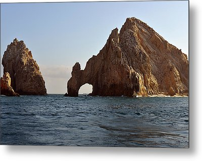 Metal Print featuring the photograph El Arco De Cabo San Lucas by Christine Till