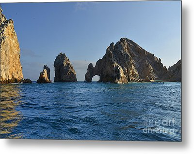 Metal Print featuring the photograph El Arco - The Arch - Cabo San Lucas by Christine Till