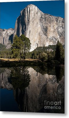 El Capitan In Yosemite 2 Metal Print