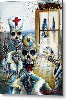 El Doctor Metal Print