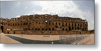 Metal Print featuring the photograph El Jem by Jon Emery