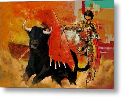 El Matador Metal Print by Corporate Art Task Force