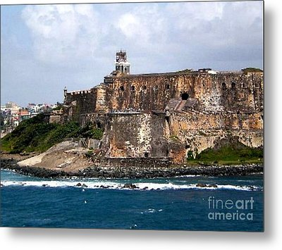 Metal Print featuring the painting El Moro by Holly Martinson