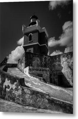 El Morro 001 Metal Print by Lance Vaughn