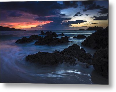 Metal Print featuring the photograph El Villar Beach Galicia Spain by Pablo Avanzini