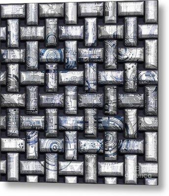 Elaborate Compounds Metal Print