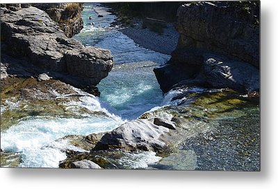 Elbow Falls Metal Print