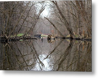 Metal Print featuring the photograph Eldon's Reflection by Bruce Patrick Smith