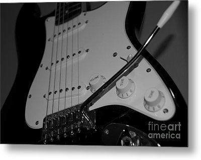 Electric Guitar  Metal Print by Sarah Mullin