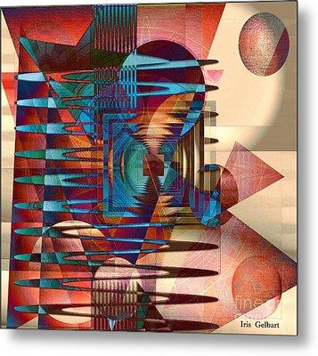 Electric Metal Print by Iris Gelbart