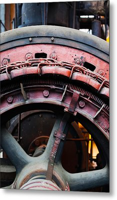 Electrical Power Room At Puits Couriot Metal Print by Panoramic Images