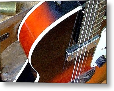 Electrified Metal Print by Everett Bowers