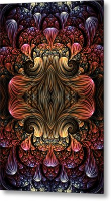 Elegance By Design Metal Print