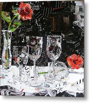 Elegance Is An Attitude Metal Print by Suzy Pal Powell