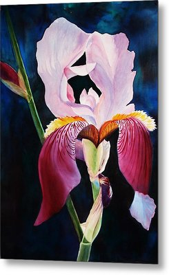 Metal Print featuring the painting Elegance by Marilyn Jacobson