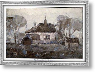 Elegiac Landscape Ell2 Metal Print