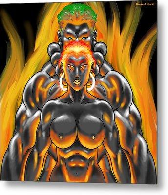 Elemental Bond Metal Print by Michael Briggs