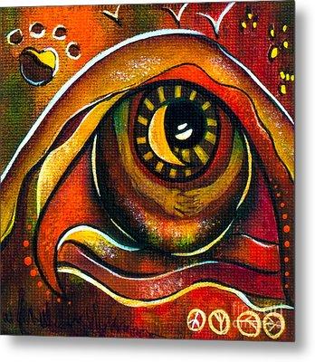 Elementals Spirit Eye Metal Print by Deborha Kerr