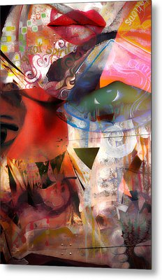 Elements Of Estrogen  Metal Print by Jerry Cordeiro